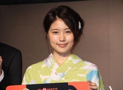 有村架純, Jul 07, 2016 : 東京都内で行われた「au×HAKUTO MOON CHALLENGE」のアンバサダー就任式