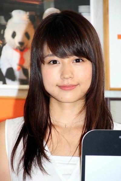 有村架純/Kasumi Arimura, Jul 30, 2013 : 「フロム・エーナビ」の新CMキャラクター発表会=2013年7月30日撮影