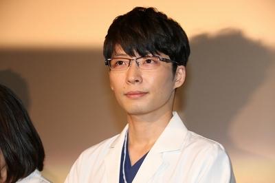 星野源/Gen Hoshino, Oct 07, 2015 : ドラマ「コウノドリ」(TBS系)の医療関係者向け試写会=2015年10月7日撮影