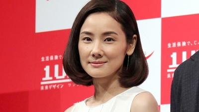 吉田羊/Yo Yoshida, Sep 24, 2015 : 住友生命の保険「1UP(ワンアップ)」の新CM発表会