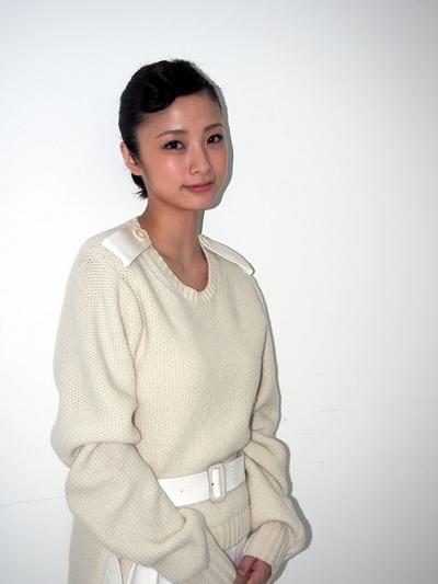 上戸彩/Aya Ueto, Nov 02, 2013 : 「武士の献立」(朝原雄三監督)上戸彩さん=2013年11月2日撮影