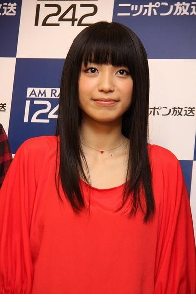 Miwa, Feb 18, 2012 : 「オールナイトニッポン」45周年記念イベントの会見=2012年2月18日撮影