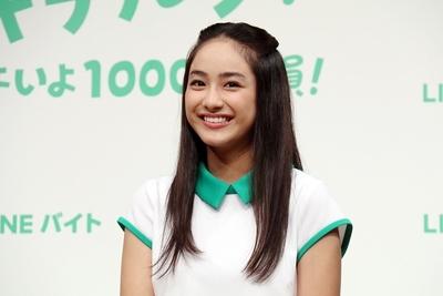 平祐奈, Sep 28, 2016 : 東京都内で行われた「LINEバイト2016秋」の新CM発表会