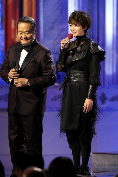 , 真木よう子/Yoko Maki, Feb 27, 2015 : 「第38回日本アカデミー賞」の授賞式。東京都内=2015年2月27日撮影