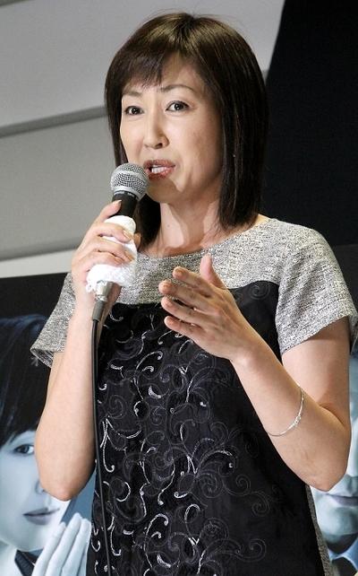 高島礼子/Reiko Takashima, Apr 09, 2014 : 「隣の女」の会見=2014年4月9日撮影