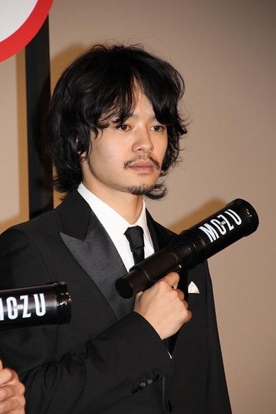 池松壮亮/Sosuke Ikematsu, Nov 07, 2015 : 映画「劇場版 MOZU」の初日舞台あいさつ=2015年11月7日撮影