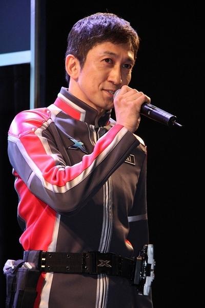 神尾佑/Yu Kamio, Jun 18, 2015 : 新番組『ウルトラマンX』製作発表会 東京おもちゃショー2015にて