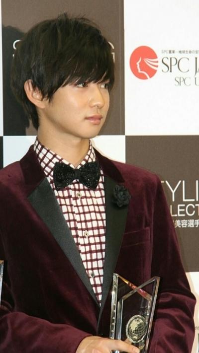 千葉雄大/Yudai Chiba, Nov 17, 2015 :  「ベストスタイリングアワード2015」表彰式=2015年11月17日撮影
