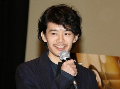 池松壮亮/Sosuke Ikematsu, Mar 27, 2016 : 名古屋市内で行われた映画「無伴奏」の舞台あいさつ