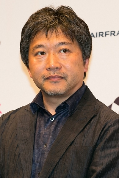 是枝裕和/Hirokazu Koreeda director of the film After the Strom attends the opening ceremony of the Festival du Film Francais au Japon 2016 on June 24, 2016, Tokyo, Japan. 13 movies will be screened during the festival which runs from June 24th to 27th. (Photo by Rodrigo Reyes Marin/AFLO)