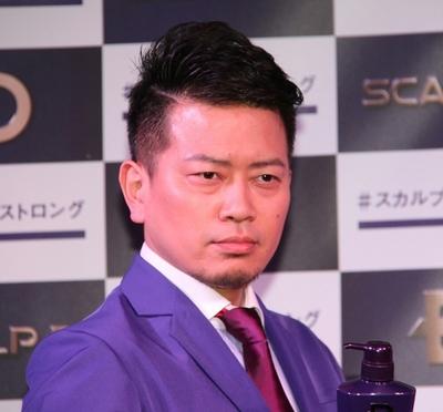 宮迫博之/Hiroyuki Miyasako(雨上がり決死隊/Ameagari Kesshitai), Apr 27, 2016 : 東京都内で行われた「スカルプD」のイベント