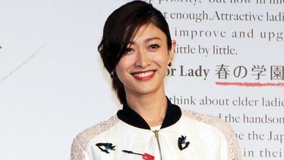 山田優/Yu Yamada, Mar 03, 2016 : 東京都内で行われた女性向けイベント「Ready for Lady春の学園祭」で行われたトークショー