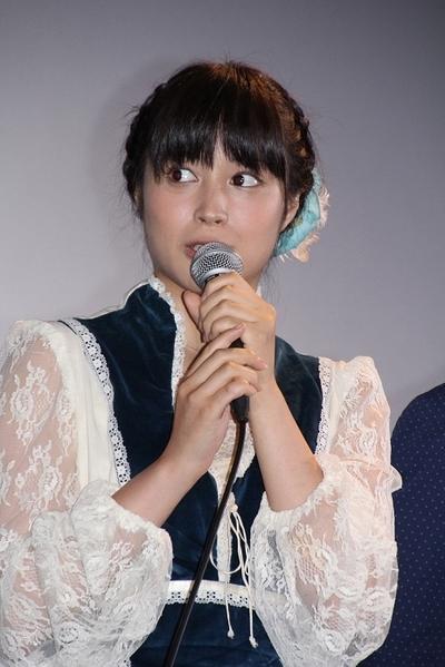 広瀬アリス/Alice_Hirose, Jul 07, 2012 : 映画「スープ~生まれ変わりの物語~」の初日舞台あいさつ=2012年7月7日撮影