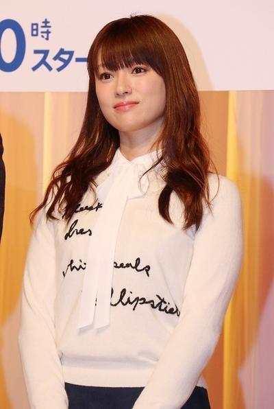 深田恭子/Kyoko Fukada, Jan 05, 2016 : 連続ドラマ「ダメな私に恋してください」の会見=2016年1月5日撮影