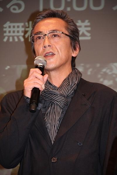 寺島進/Susumu Terajima, Feb 13, 2012 : WOWOWドラマ「推定有罪」の会見