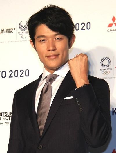 鈴木亮平, Jul 23, 2016 : 東京都内で行われた「三菱電機」の「東京2020オリンピック・パラリンピック」に向けた新CM発表会