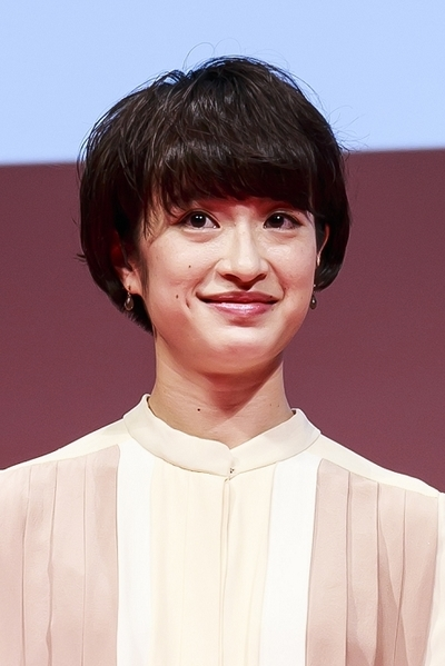 門脇麦/Mugi Kadowaki, Apr 27, 2016 : Japanese actress Mugi Kadowaki attends the stage greeting for the movie Wolf Girl and Black Prince at Tokyo International Forum on April 27, 2016, Tokyo, Japan. The film is based on the Japanese manga series written by Ayuko Hatta which has already been adopted into a drama and TV anime. It will hit theatres across Japan on May 28. (Photo by Rodrigo Reyes Marin/AFLO)