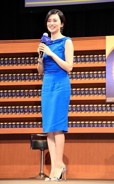 柴咲コウ/Ko Shibasaki, Apr 11, 2016 : 東京都内で行われたアサヒビール「アサヒ ドライプレミアム 豊醸」の新CM発表会