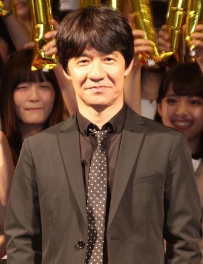 内村光良(ウッチャンナンチャン), Sep 13, 2016 : 東京・有楽町朝日ホールで行われた映画「金メダル男」の完成披露舞台あいさつ