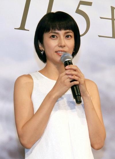 柴咲コウ, Oct 31, 2016 : 東京都内で行われたスペシャルドラマ「氷の轍」の制作発表会見