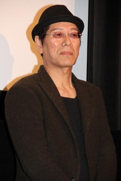 大杉漣/Ren Ohsugi, Mar 10, 2012 : 映画「FLY!~平凡なキセキ~」の初日舞台あいさつ=2012年3月10日撮影
