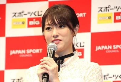 深田恭子, Oct 06, 2016 : 東京都内で行われた日本スポーツ振興センターのスポーツくじ(toto・BIG)の感謝イベント