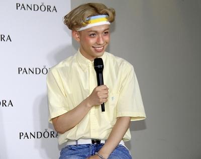 りゅうちぇる/Ryucheru, May 21, 2016 : 「PANDORA 表参道」のオープニングイベント