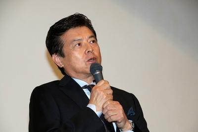 三浦友和, Jun 18, 2016 : 東京・新宿バルト9にて行われた映画「葛城事件」の初日舞台挨拶イベント