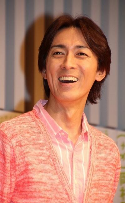 矢部浩之/Hiroyuki Yabe(ナインティナイン/NINETY-NINE), Mar 02, 2014 : まもなく生まれる第1子について語ったナインティナインの矢部浩之さん=2014年3月2日撮影