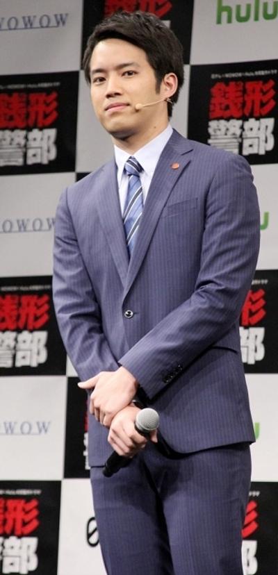 三浦貴大, Jan 25, 2017 : 「日テレ×WOWOW×Hulu 共同製作ドラマ『銭形警部』完成披露試写会」