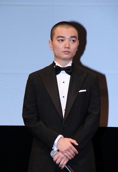 染谷将太, Nov 14, 2016 : 東京都内で行われた映画「海賊とよばれた男」完成記念イベント
