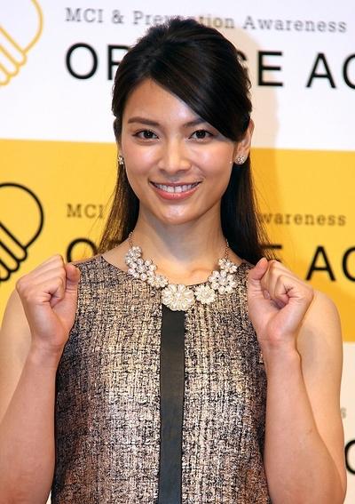 秋元才加/Ayaka Akimoto, Jun 13, 2014 : イベントに登場した秋元才加さん=2014年6月13日撮影