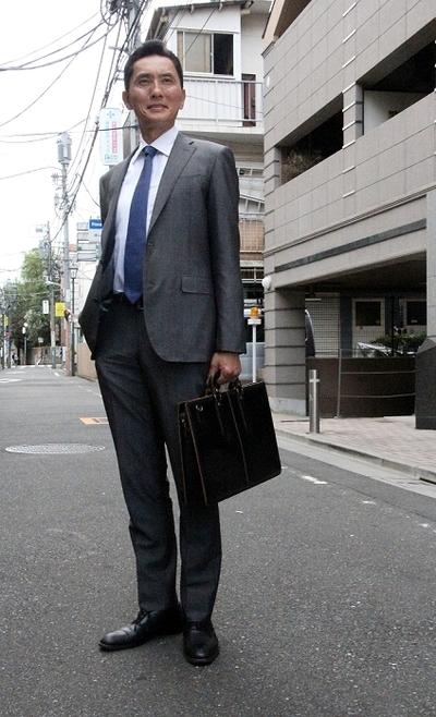 松重豊/Yutaka Matsushige, Aug 08, 2014 : 「孤独のグルメ」にかける思いを語った主演の松重豊さん=2014年8月8日撮影
