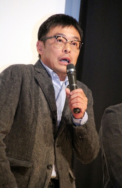 光石研, Dec 24, 2016 : 東京都内で行われた映画「14の夜」の初日舞台あいさつ