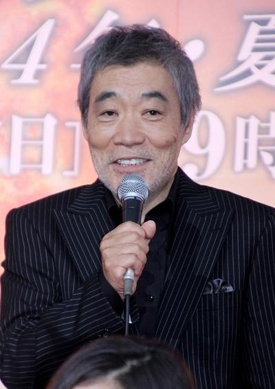 柄本明/Akira Emoto, Oct 31, 2013 : 2夜連続スペシャルドラマ「オリンピックの身代金」(テレビ朝日系)の会見が31日、東京・六本木の同局本社で行われ、豪華出演陣が集結した。
