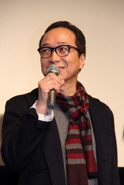 小日向文世/Fumiyo Kohinata, Feb 11, 2012 : 「逆転裁判」の初日舞台あいさつ