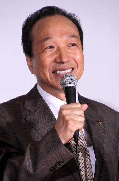 小日向文世/Fumiyo Kohinata, Jul 10, 2014 : 「HERO」の会見=2014年7月10日撮影
