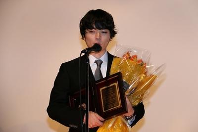 染谷将太/Shota Sometani, May 03, 2016 : 東京・テアトル新宿にて行われた第25回日本映画プロフェッショナル大賞の授賞式