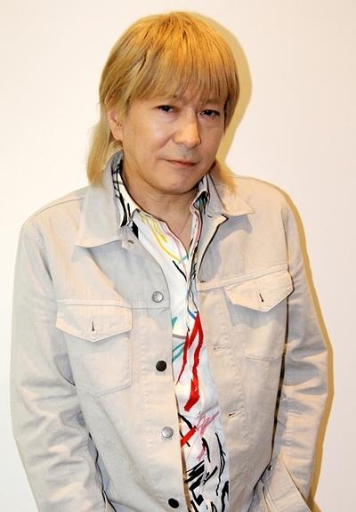小室哲哉/Tetsuya Komuro, May 07, 2015 : インタビューで「TM NETWORK」30周年ツアーなどについて語る小室哲哉さん=2015年5月7日撮影