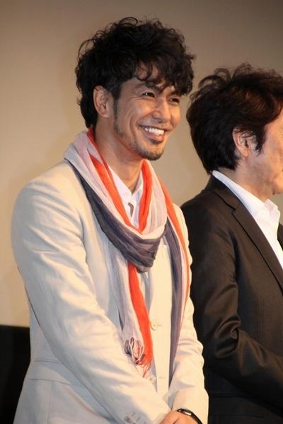 北村一輝/Kazuki Kitamura, Apr 28, 2012 : テルマエ・ロマエ 初日舞台あいさつ=2012年4月28日撮影 テルマエ・ロマエ : 日本一顔が濃い俳優は北村一輝に決定