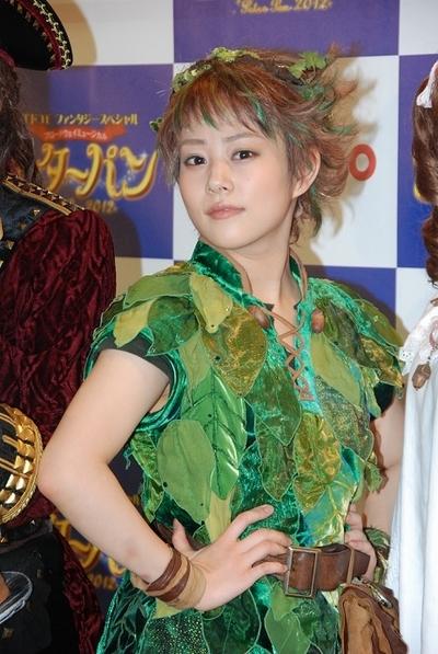 高畑充希/Mitsuki Takahata, Jul 19, 2012 : ブロードウェーミュージカル「ピーターパン」公開舞台げいこ=2012年7月19日撮影
