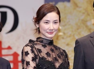 吉田羊, Oct 03, 2016 : 東京都内で行われた映画「ボクの妻と結婚してください。」の完成披露試写会