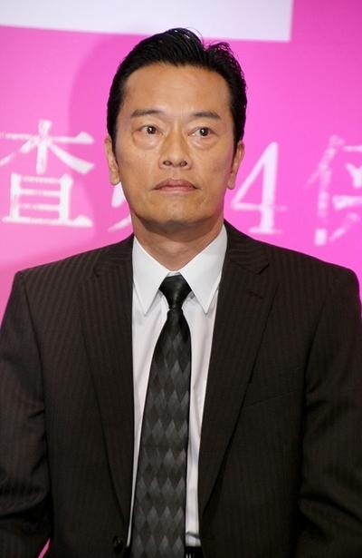 遠藤憲一/Kenichi Endo, Apr 03, 2014 : テレビ朝日 連続ドラマ「BORDER」の制作発表会見