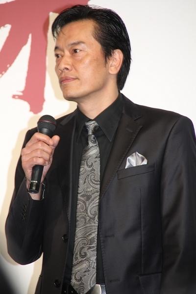 遠藤憲一/Kenichi Endou, Feb 13, 2012 : ゲーム「バイナリードメイン」の完成披露会