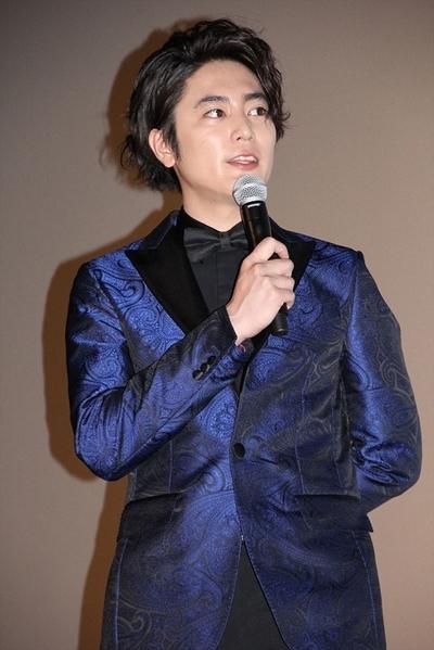 間宮祥太朗, Jun 10, 2016 : 東京・スカラ座にて行われた映画「高台家の人々」の公開記念, 舞台あいさつ