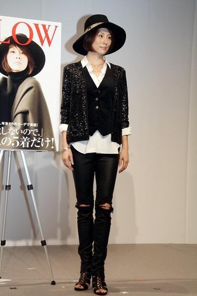 米倉涼子, Nov 12, 2016 : 40代向け女性ファッション誌「GLOW」の読者イベント