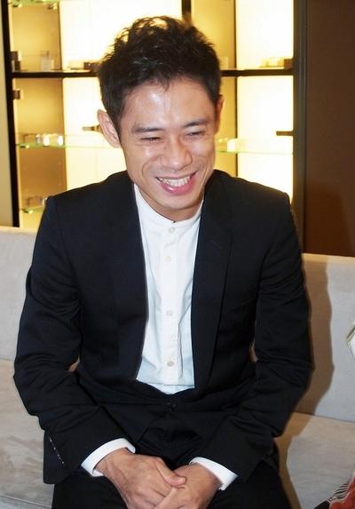 伊藤淳史/Atsushi Ito, Sep 30, 2015 : 映画「ボクは坊さん。」について語った伊藤淳史さん=2015年9月30日撮影