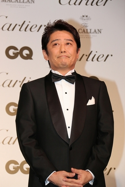 坂上忍/Shinobu Sakagami, Nov 20, 2014 : 今年最も輝いた男性に贈られる「GQ メン・オブ・ザ・イヤー 2014」に選ばれ、授賞式に登場した坂上忍さん=2014年11月20日撮影