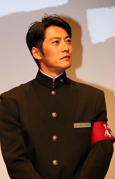 反町隆史/Takashi Sorimachi, Jul 09, 2014 : 連続ドラマ「あすなろ三三七拍子」の会見=2014年7月9日撮影
