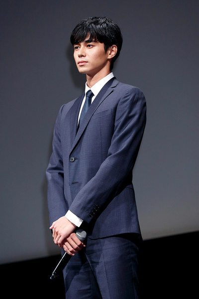 Actor Masahiro Higashide attends the stage greeting for the film Satoshi: A Move for Tomorrow at EX Theatre Roppongi on November 2, 2016, Tokyo, Japan. The screening is part of the 29th Tokyo International Film Festival which runs from October 25 til November 3. (Photo by Rodrigo Reyes Marin/AFLO)